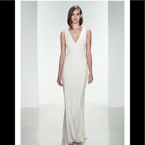 Amsale Dresses | Demi Ivory Wedding Gown | Poshmark